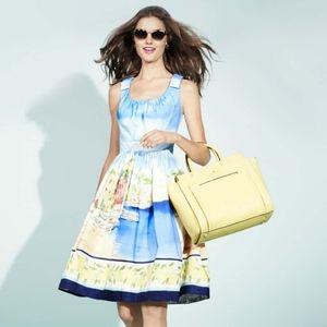 New! Kate Spade   Elza Dress Capri Landscape